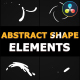 Abstract Shape Elements | DaVinci Resolve - VideoHive Item for Sale