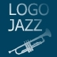 Inspirational Jazz Trumpet Logo