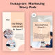 Instagram  Marketing Story Pack - VideoHive Item for Sale