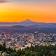 Portland, Oregon, USA downtown skyline with Mt. Hood - PhotoDune Item for Sale