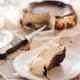 Piece of Homemade San Sebastian burnt cheesecake - PhotoDune Item for Sale