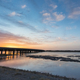 beautiful sunrise sky on black river - PhotoDune Item for Sale