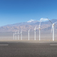 road and wind energy on western wilderness - PhotoDune Item for Sale