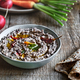 Homemade Black Bean Dip with some fresh vegetables - PhotoDune Item for Sale