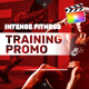 Intense Fitness Training Promo | For Final Cut & Apple Motion - VideoHive Item for Sale