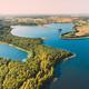 Braslaw District, Vitebsk Voblast, Belarus. Aerial View Of Nedrovo Lake, Green Forest Landscape. Top - PhotoDune Item for Sale