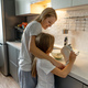 Mother with little daughter cooking at home. - PhotoDune Item for Sale