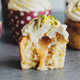 Vanilla cupcakes with cream and caramel - PhotoDune Item for Sale
