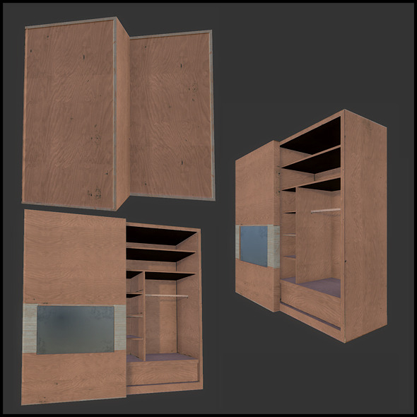 Condo Wardrobe - 3DOcean Item for Sale