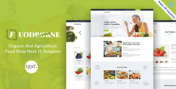 Special Fuodborne - Organic & Agriculture Food Shop Next JS Template