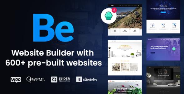 Betheme | Multipurpose Website Builder for WordPress Nulled