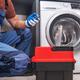 Professional Worker Installing Washing Machine - PhotoDune Item for Sale
