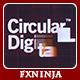Digital Technology Logo - VideoHive Item for Sale