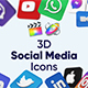 3D Social Media Icons for Final Cut Pro X & Apple Motion - VideoHive Item for Sale