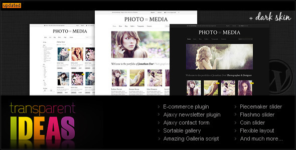 Phomedia WordPress Theme - A WP E-Commerce theme