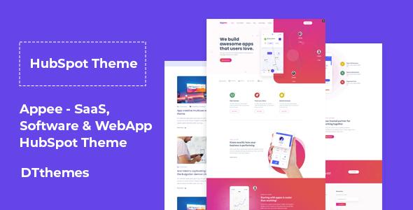 Appee - SaaS, Software & WebApp HubSpot Theme