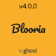 Blooria - Modern and Clean Magazine Ghost Blog Theme