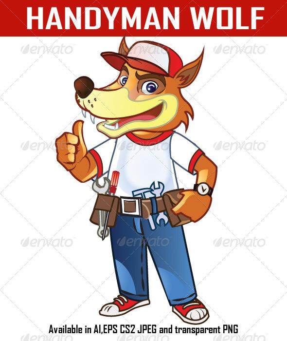 Handyman Wolf - Animals Characters