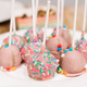 Cake pops on plate. plate at sweet candy bar - PhotoDune Item for Sale