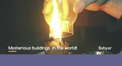 Mysterious buildings in the world!