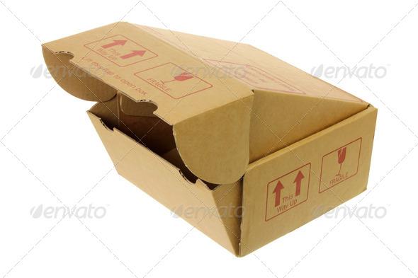 Cardboard Box - Stock Photo - Images
