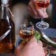 Hands Glass With Alcohol - PhotoDune Item for Sale