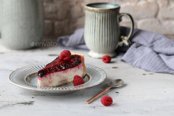Cheesecake Dessert - Stock Photo - Images