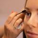 Hand Of Beautician Using Mascara On Customer's False Eyelashes - PhotoDune Item for Sale