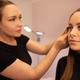 Female Specialist Using Mascara On Customer's False Eyelashes - PhotoDune Item for Sale