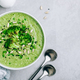 Broccoli cream soup with sunflower and sesame seeds. - PhotoDune Item for Sale