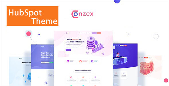 Conzex – Cloud, Saas & Startup HubSpot Theme