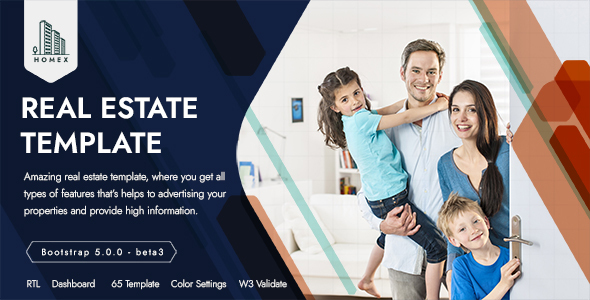 Homex - Real Estate Template