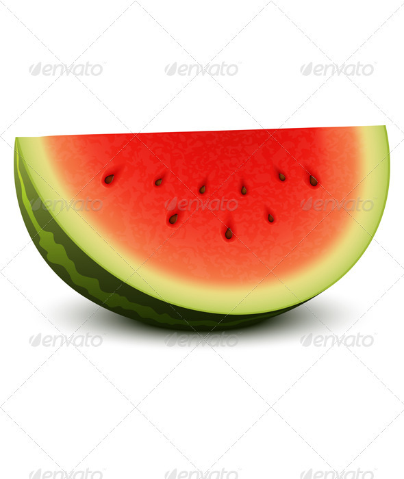 Watermelon - Food Objects