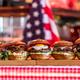 Burgers in american restaurant - PhotoDune Item for Sale
