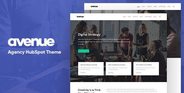 Avenue – Creative Agency HubSpot Theme
