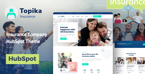 Topika - Insurance Agency HubSpot Theme