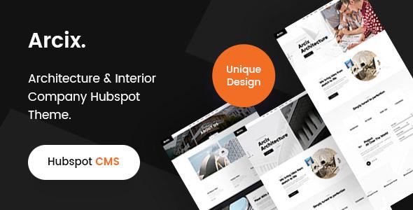 Arcix -Architecture Hubspot theme