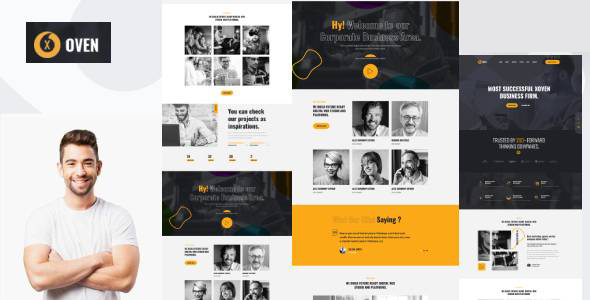 Xoven – Creative Business Service HubSpot Theme