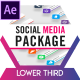 Social Media Lower Thirds Package - VideoHive Item for Sale