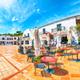 Splendid view of  Porto Rafael resort from beach bar. - PhotoDune Item for Sale