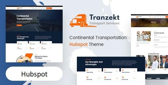 Tranzekt – Transport and logistics HubSpot Theme