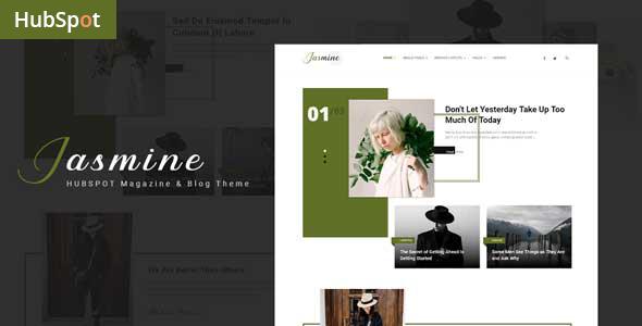 Jasmine – Blog and Magazine HubSpot Theme