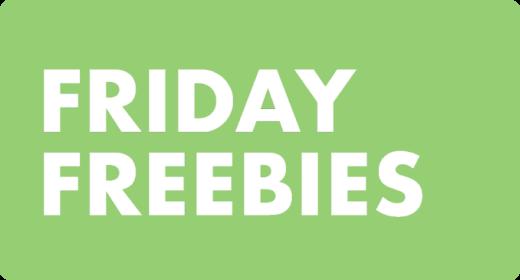 Friday Freebies - 11 June 2021