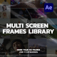 Multi Screen Frames Library - VideoHive Item for Sale