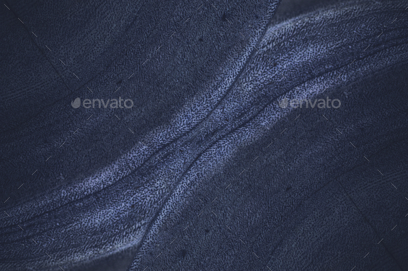 Blue rough concrete wall background - Stock Photo - Images