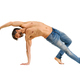 Middle-aged athletic fit man doing mobility exercises - PhotoDune Item for Sale