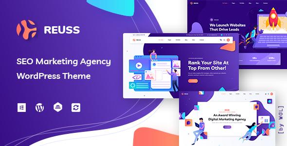 Special Reuss - SEO Marketing Agency WordPress Theme