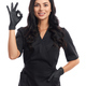 Pleasant medical worker showing sign ok with fingers - PhotoDune Item for Sale