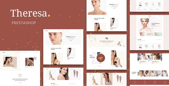 Theresa – Jewelry and Diamond PrestaShop 1.7 Theme