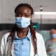 African american doctor health care specialist wearing chirurgial mask - PhotoDune Item for Sale